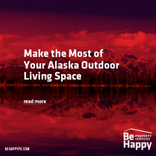 Alaska Outdoor Living Space