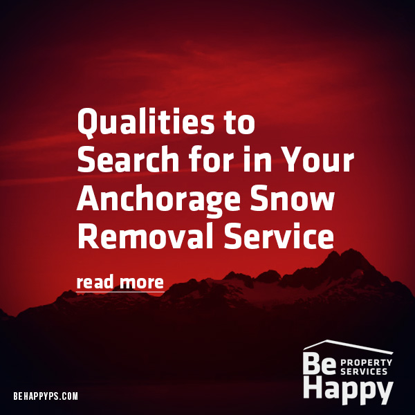 Anchorage Snow Removal Service