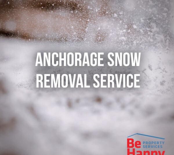 Anchorage Snow Removal Service