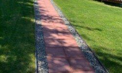 Paver walk way_landscape